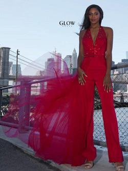 Glow Red Size 2 Interview Pageant Jumpsuit Dress on Queenly
