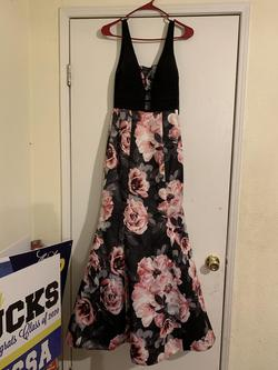 Blondie Nites Black Size 0 Prom Plunge Mermaid Dress on Queenly