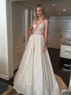 Queenly size 6 Berta Bridal Multicolor Ball gown evening gown/formal dress