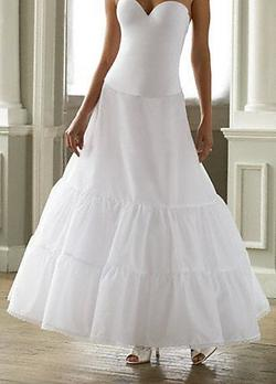 Queenly size 8 David's Bridal White Ball gown evening gown/formal dress