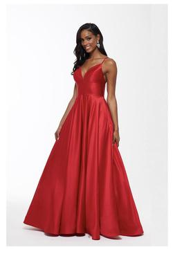 Betsy & Adam Red Size 2 Betsy And Adam Tall Height Ball gown on Queenly