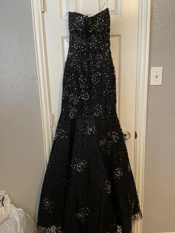 Jasz Couture Black Size 00 Prom Jewelled Sweetheart Mermaid Dress on Queenly