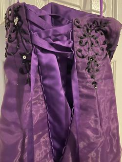 Purple Size 00 Straight Dress on Queenly