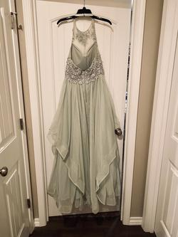 Green Size 6 A-line Dress on Queenly