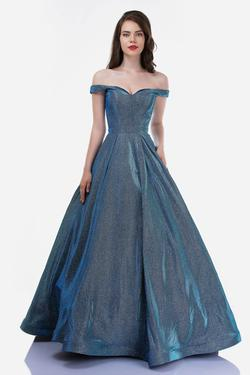 Queenly size 24 Nina Canacci Blue Ball gown evening gown/formal dress
