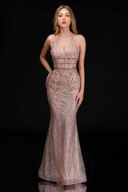 Queenly size 4 Nina Canacci Gold Mermaid evening gown/formal dress