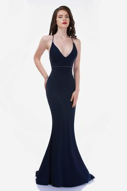 Queenly size 8 Nina Canacci Blue Mermaid evening gown/formal dress