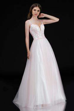 Queenly size 6 Nina Canacci Pink Ball gown evening gown/formal dress