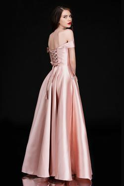 Style 6521 Nina Canacci Pink Size 16 Prom A-line Dress on Queenly