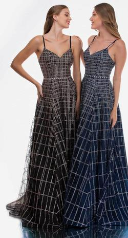 Style 8188 Nina Canacci Black Size 0 Prom Tall Height A-line Dress on Queenly