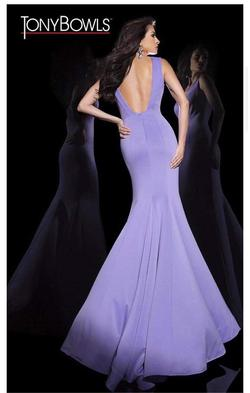 Purple Size 8 Mermaid Dress on Queenly