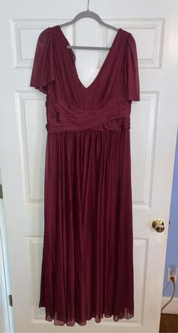 Queenly size 20  Red Straight evening gown/formal dress