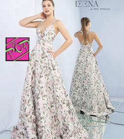 Mac Duggal Multicolor Size 0 Floral Macduggal Ball gown on Queenly