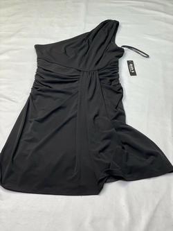 Allen B Black Size 6 Sorority Formal Wedding Guest Cocktail Dress on Queenly