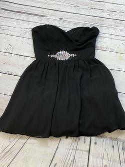 Queenly size 10 B Darlin Black Cocktail evening gown/formal dress