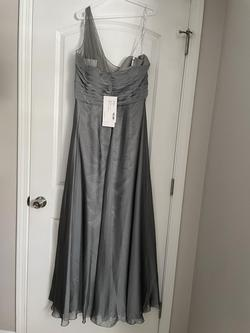 Silver Size 24 A-line Dress on Queenly