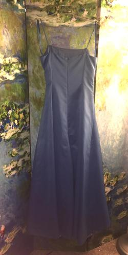 David's Bridal Blue Size 2 Pageant Ball gown on Queenly