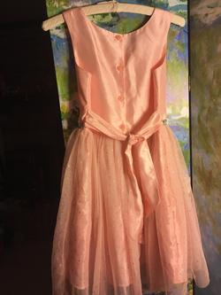Cherokee Pink Size 10 Wedding Guest Homecoming Cocktail Dress on Queenly