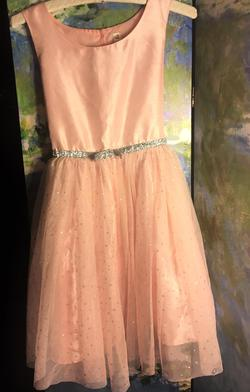 Queenly size 10 Cherokee Pink Cocktail evening gown/formal dress