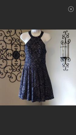 B.smart Blue Size 8 A-line Dress on Queenly