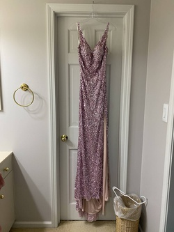 Queenly size 6  Pink Train evening gown/formal dress