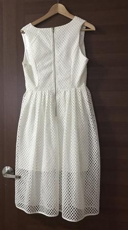 White Closet White Size 10 Graduation A-line Dress on Queenly