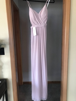 Queenly size 8  Pink Straight evening gown/formal dress