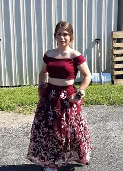 trixxy Red Size 4 Homecoming Straight Dress on Queenly