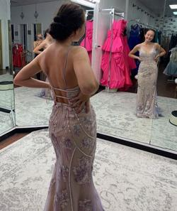 Nude Size 4 A-line Dress on Queenly