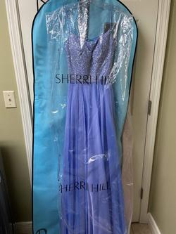 Style 52591 Blue Size 2 A-line Dress on Queenly