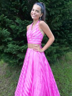 Queenly size 0 Sherri Hill Pink Ball gown evening gown/formal dress