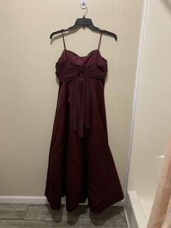 Michaelangelo Red Size 10 Prom Straight Dress on Queenly