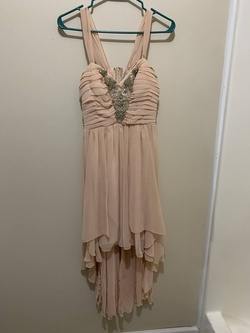 Queenly size 8  Pink A-line evening gown/formal dress