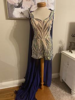 Multicolor Size 6 Jumpsuit Dress on Queenly