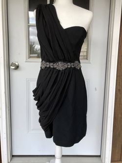 Queenly size 8 Pearl Black Cocktail evening gown/formal dress