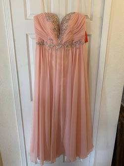 Queenly size 18  Pink Straight evening gown/formal dress