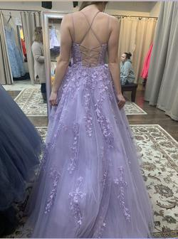 Purple Size 4 Ball gown on Queenly