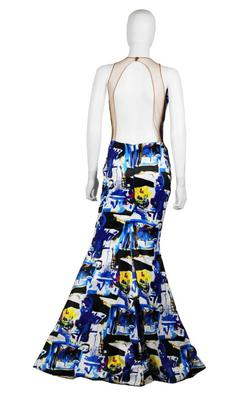 Chaluisant Multicolor Size 4 Custom Mermaid Dress on Queenly