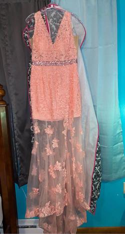 Queenly size 12  Pink Mermaid evening gown/formal dress