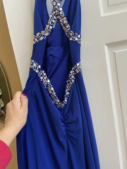 Blue Size 0 Straight Dress on Queenly