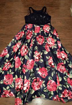 city triangles Blue Size 16 Two Piece Train Dress on Queenly