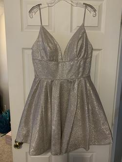 Sherri Hill Gold Size 14 Cocktail Dress on Queenly