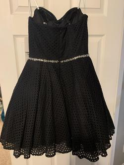 Angela & Alison Black Size 14 Cocktail Dress on Queenly