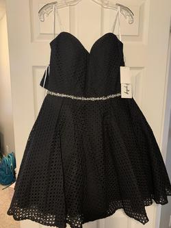 Queenly size 14 Angela & Alison Black Cocktail evening gown/formal dress