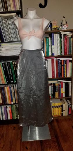 Ann Taylor Silver Size 0 Ball gown on Queenly