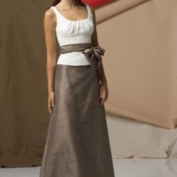 Style 6142 Watters & Watters Black Size 14 Plus Size A-line Dress on Queenly