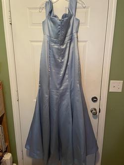 B. Smart Blue Size 18 Light Pink Mermaid Dress on Queenly
