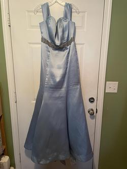 Queenly size 18 B. Smart Blue Mermaid evening gown/formal dress