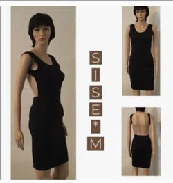 Black Size 4 A-line Dress on Queenly