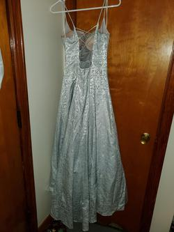 B. Smart Silver Size 8 Straight Pageant Ball gown on Queenly